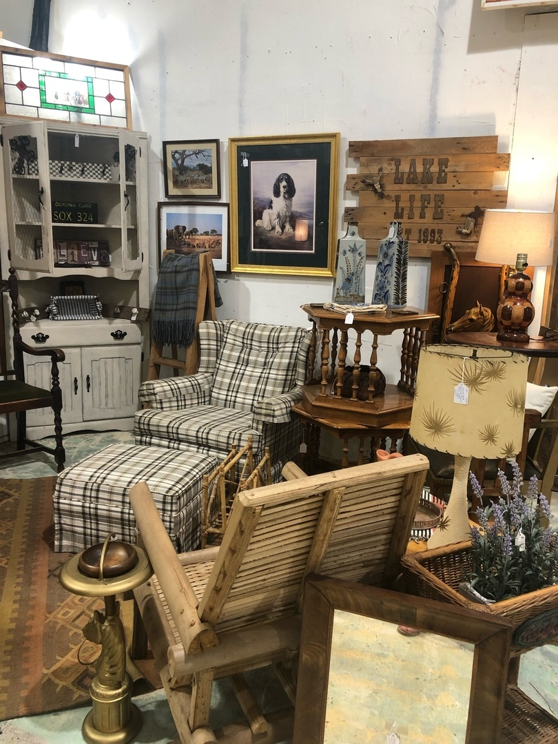 Lake House Staging at City Antiques